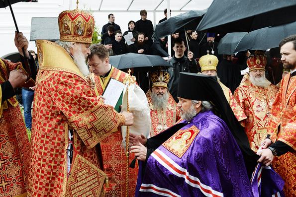 Слово Патриарха Кирилла при вручении архиерейского жезла епископу Чистопольскому и Нижнекамскому Пармену