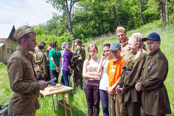 В Казани прошла епархиальная военно-спортивная игра «Зарница»