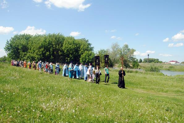 В селе Никольском состоялось празднование в честь местночтимой иконы Божией Матери