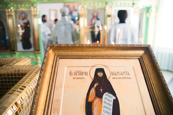 В Казанской епархии освящен первый храм в честь преподобномученицы Маргариты Мензелинской