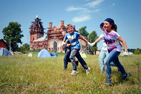 Клуб юных спасателей Набережных Челнов провел первые летние сборы