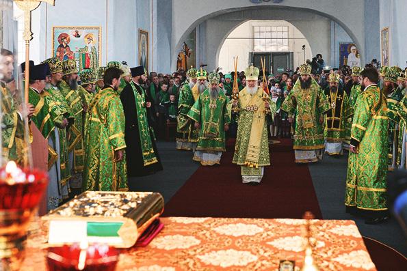 Патриарх Кирилл возглавил торжества по случаю 25-летия канонизации Иоанна Кронштадтского