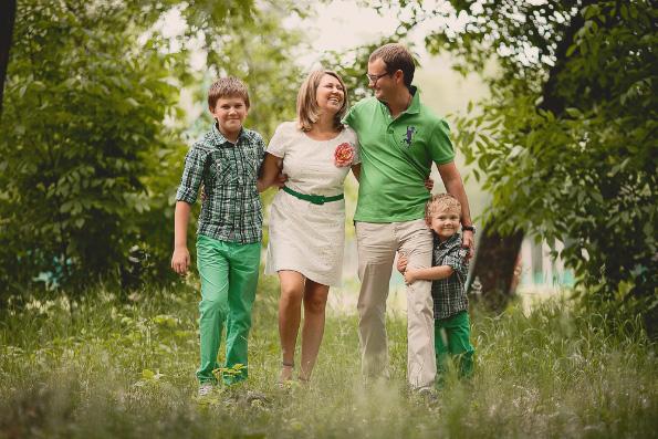 Для семьи в любви и верности