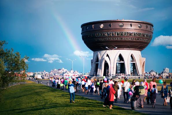 В Казани прошли мероприятия по случаю Дня семьи, любви и верности