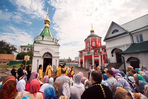 Свято-Владимирские престольные торжества и собрание миссионерского братства в Кизическом монастыре