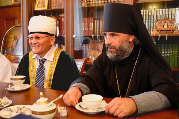 Казанскую епархию посетили гости из Башкортостана