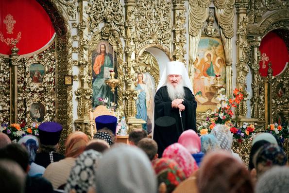 Митрополит Феофан призвал православную молодежь активно свидетельствовать о Христе
