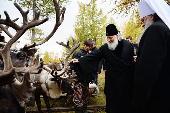 Патриарх в фактории Лаборовая
