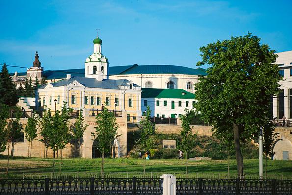 Престольный праздник встретил Иоанно-Предтеченский монастырь града Казани
