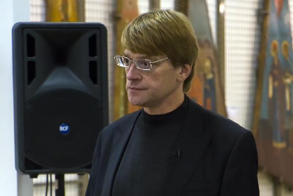 В Казани состоялась встреча со звонарем Свято-Введенского Кизического монастыря