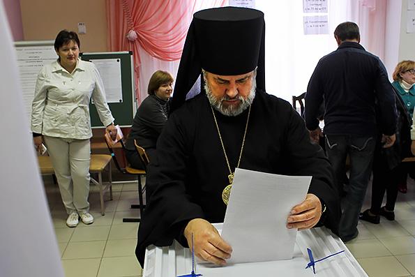 Духовенство Татарстанской митрополии приняло участие в выборах президента РТ