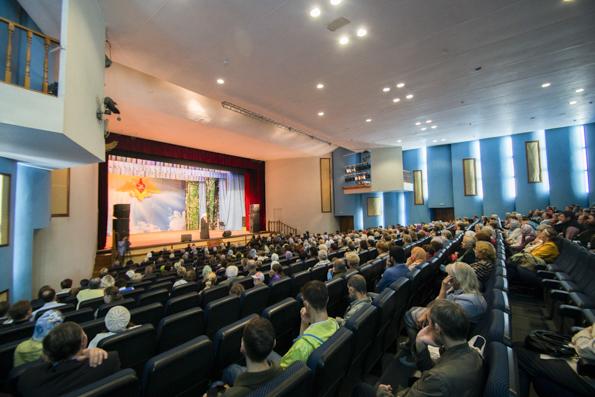 Глава Татарстанской митрополии встретился с жителями Набережных Челнов