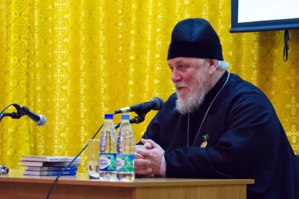 Писатель протоиерей Николай Агафонов провел встречу со студентами семинарии