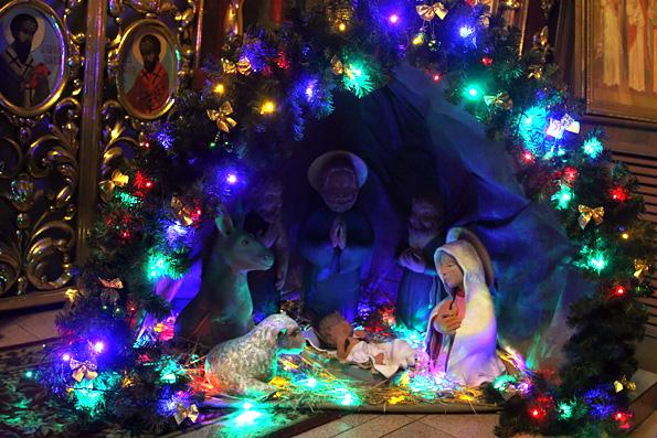 Рождественская ночь: когда храм — вифлеемская пещера