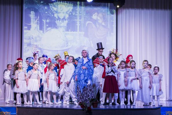 В Казани состоялась премьера спектакля «Снежная королева»