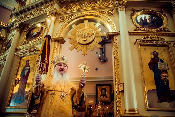 В праздник Собора новомучеников и исповедников Церкви Русской митрополит Феофан совершил Литургию в Богородицком монастыре столицы Татарстана