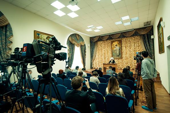 Глава Татарстанской митрополии ответил на вопросы представителей республиканских средств массовой информации