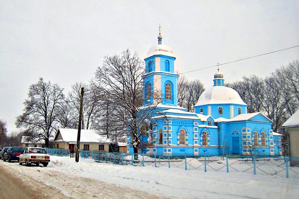 Храм в селе Птичья
