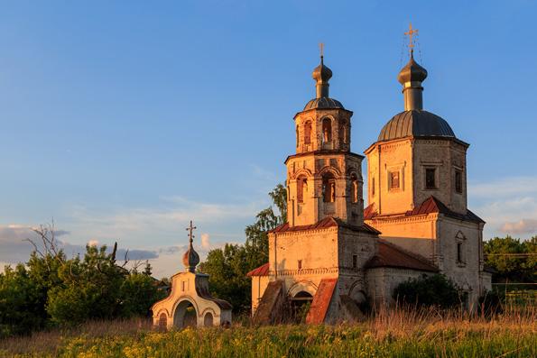 В храме села Соловцово впервые за 90 лет совершена Литургия