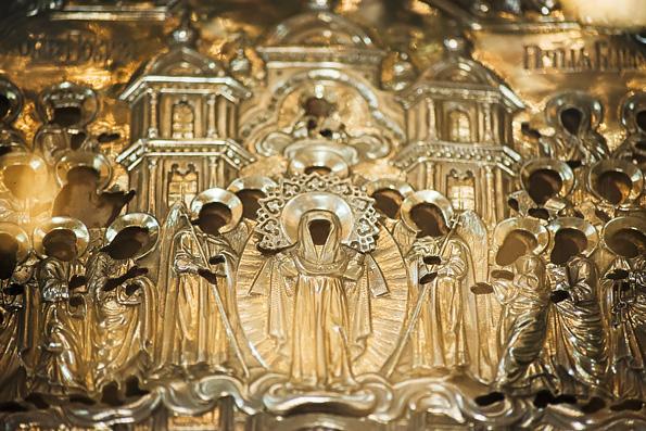 Проповедь митрополита Феофана в праздник Покрова Божией Матери в Покровском храме Казани