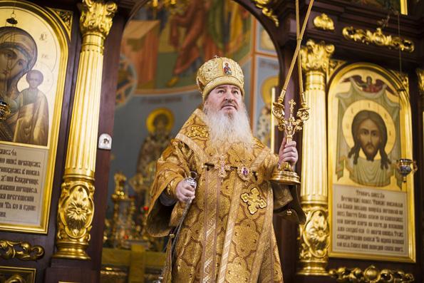 Слово митрополита Феофана в храме прп. Серафима Саровского в городе Набережные Челны