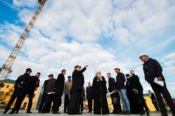 В Богородицком монастыре прошло расширенное совещание, посвященное воссозданию Казанского собора