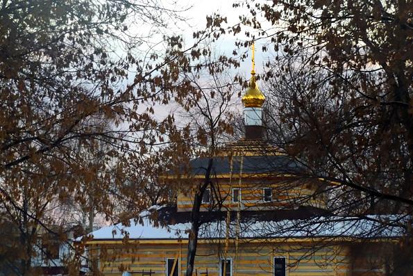 На строящийся храм в Авиастроительном районе Казани воздвигли купол