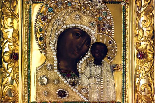 Московский список Казанской иконы Божией Матери