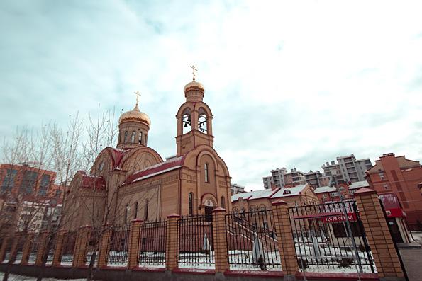 Престольный праздник встретили в храме священномученика Кирилла в столице Татарстана