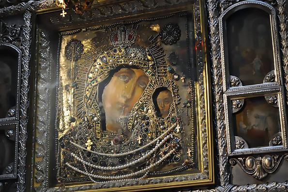 Петербургский список Казанской иконы Божией Матери
