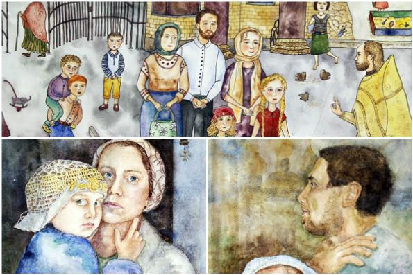 Ученица казанской воскресной школы заняла второе месте на конкурсе детского творчества «Красота Божьего мира»