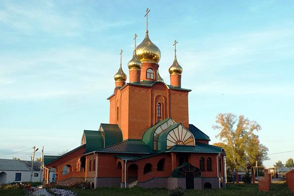 Храм святителя Николая Чудотворца, поселок Уруссу