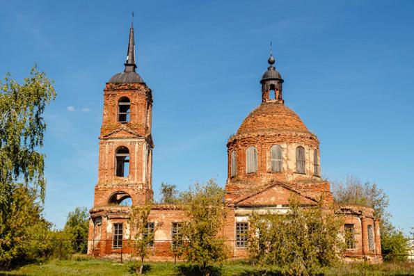 Храм Живоначальной Троицы, село Татарские Челны