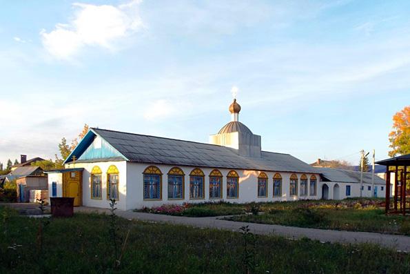 Молитвенный дом святителя Николая Чудотворца, поселок Уруссу