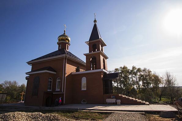 Храм великомученика Георгия Победоносца, село Старое Гришкино