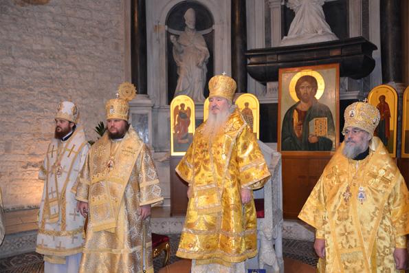 Делегация Татарстанской митрополии приняла участие в праздновании дня памяти святителя Николая в Бари