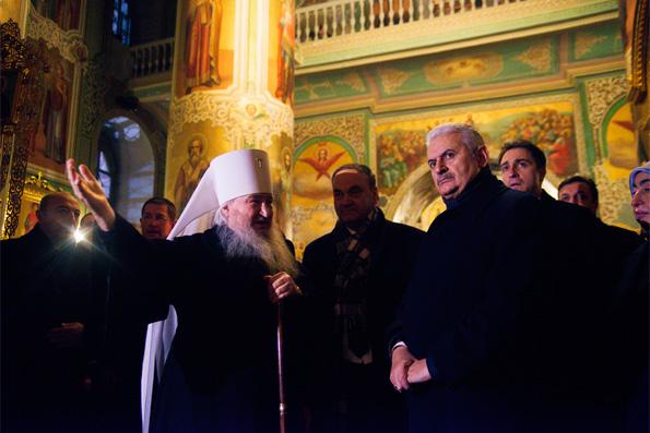 Глава Татарстанской митрополии встретился с премьер-министром Турецкой Республики