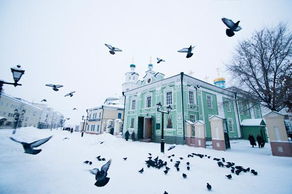 Никольский кафедральный собор Казани отметил престольный праздник