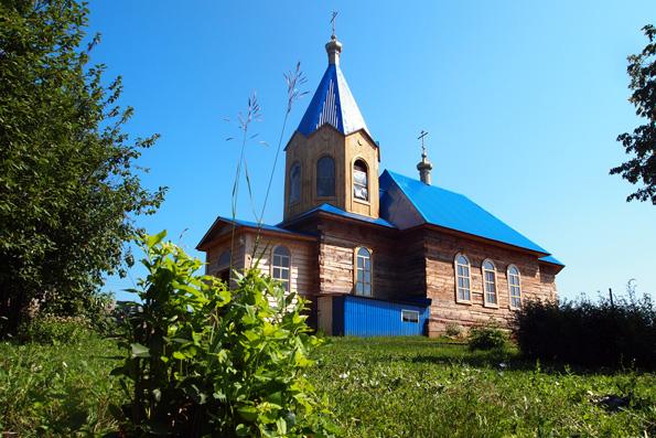 Храм Владимирской иконы Божией Матери, село Монашево