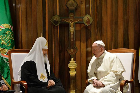 Совместное заявление Папы Римского Франциска и Святейшего Патриарха Кирилла