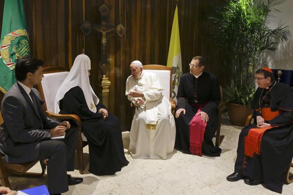 Патриарх Кирилл и Папа Франциск подпишут декларацию под образом Казанской иконы Божией Матери