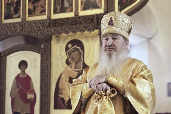 Проповедь митрополита Феофана в Неделю 37-ю по Пятидесятнице в Евдокиевской церкви Казани