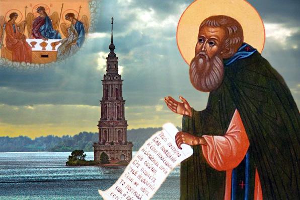 Как в затопленном монастыре служили Божественную литургию