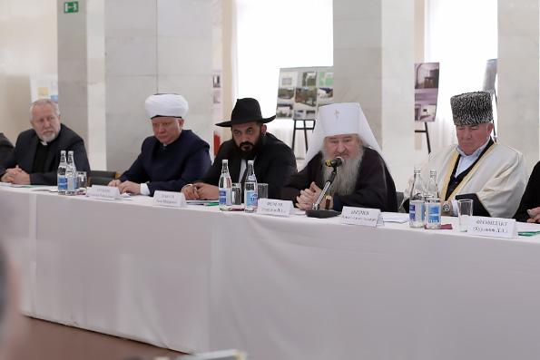 Глава Татарстанской митрополии выступил на прошедшем в Нальчике заседании Общественного совета СКФО