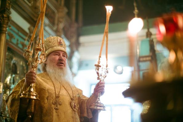 Проповедь митрополита Феофана в Неделю о Страшном Суде в Казанском храме в Царицыно