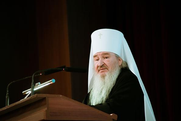 Митрополит Феофан выступил на проходящем в Казани международном форуме «Руками женщины»