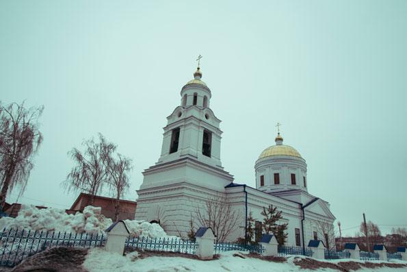 В Неделю о Страшном Суде митрополит Феофан совершил Литургию в Казанском храме в Царицыно