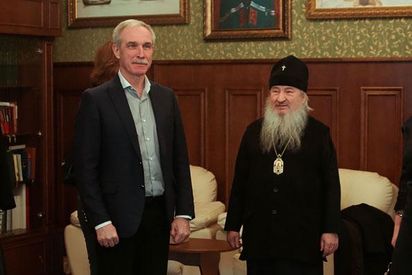 В Казани состоялась встреча главы Татарстанской митрополии с губернатором Ульяновской области