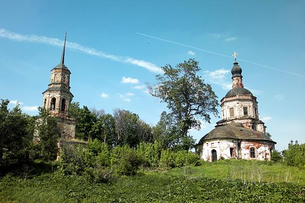 Храм преподобного Кирилла Белозерского, село Каймары