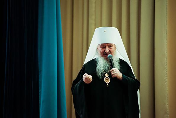 Слово митрополита Феофана на встрече со студентами КГАСУ